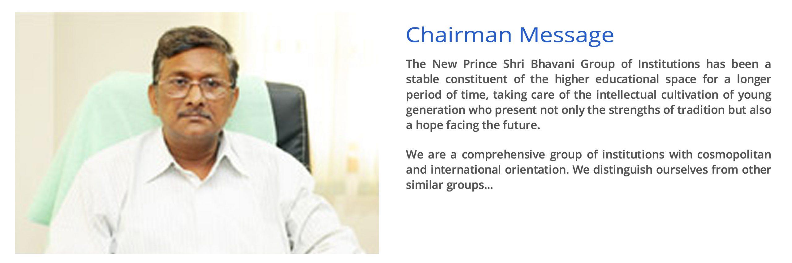 chairman j